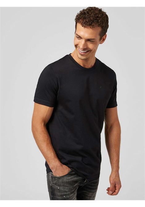 t-shirt all black DONDUP | 10000055 | US198JF0283UZL4999