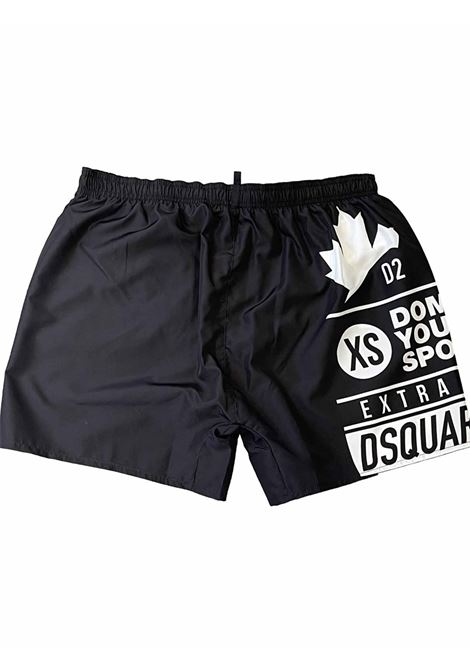 Sexy stampa DSQUARED SW | 85 | D7B55369001854