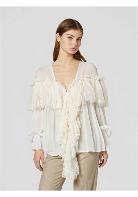 Camicia tulle DONDUP | 6 | DC222ZF0056D003
