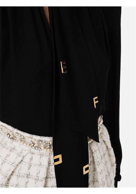 Camicia fiocco ELISABETTA FRANCHI | 6 | CA30316E2110
