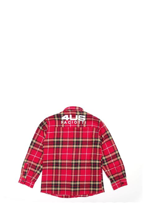 Camicia 4US - CESARE PACIOTTI | Camicie | CMP0320B300