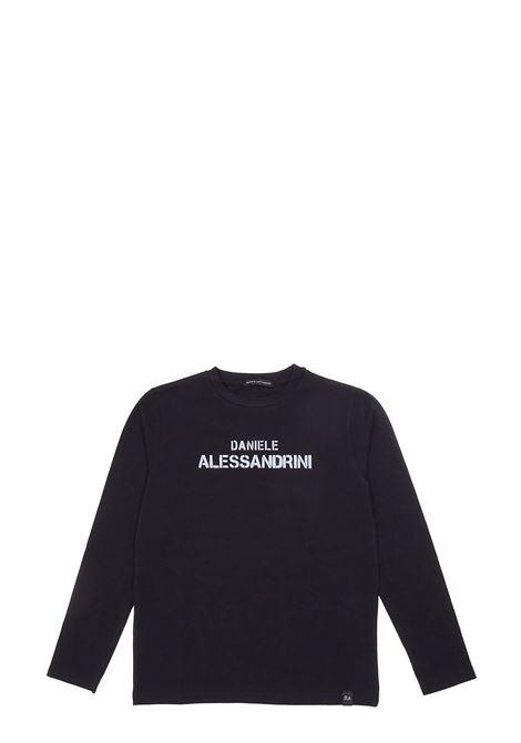 T-shirt DANIELE ALESSANDRINI | T-shirts | 1231M0879BLACK