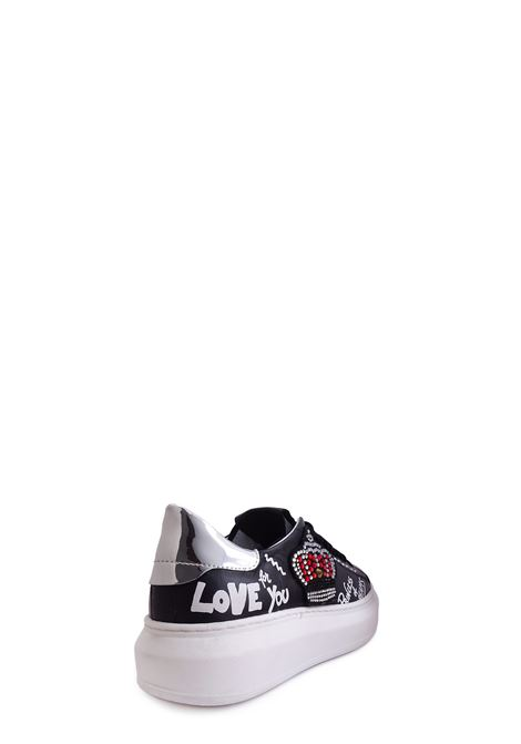 Sneakers GIO+ | Sneakers | G3010XD1NERO/ARGENTO