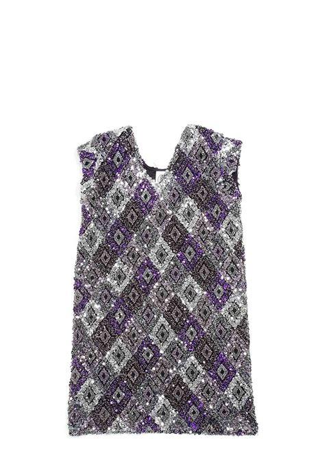 LE VOLIERE | Dress | WW20D037PVAR. UNICA