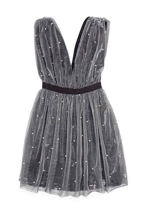 LE VOLIERE | Dress | WW20D215PGREY