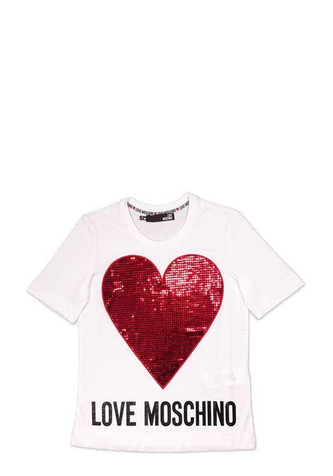 T-shirt LOVE MOSCHINO | T-shirts | W4F15 2Q M38764051