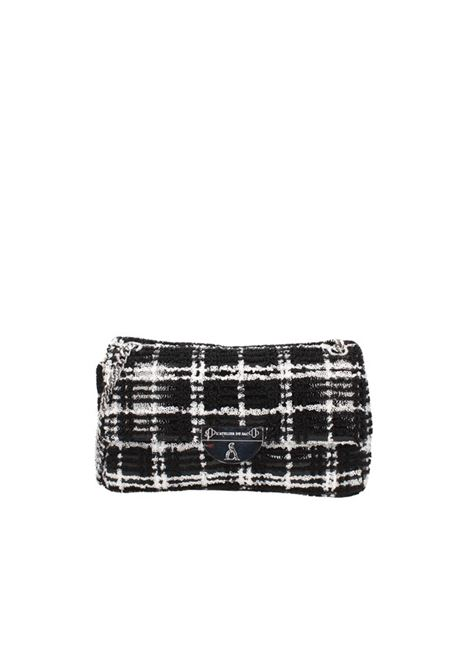 Borsa a spalla PASHBAG | Borse | 10293CHECK BLACK/WHITE