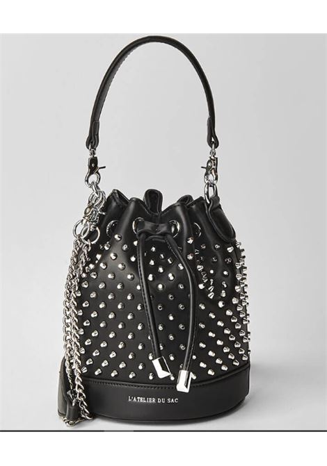 PASHBAG | Bag | 10316BLACK/SILVER