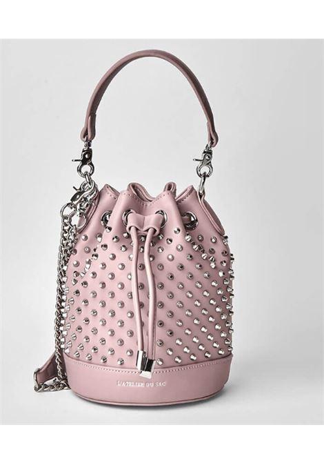 PASHBAG | Bag | 10317OLD PINK/SILVER