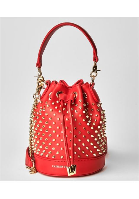 Secchiello PASHBAG | Borse | 10319RED/GOLD