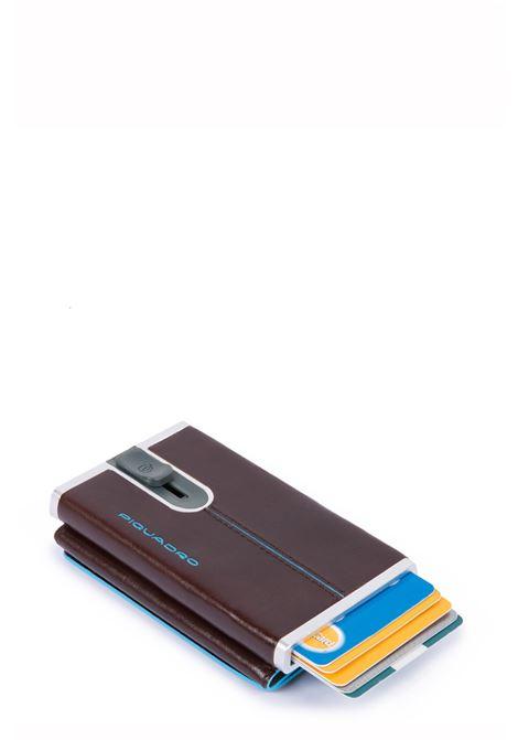 PIQUADRO | Compact wallet per banconote e carte di credito | PP4891B2RMO