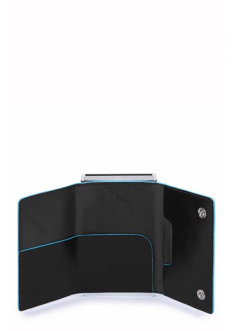 PIQUADRO | Compact wallet per banconote e carte di credito | PP4891B2RN