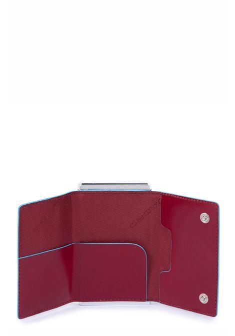 PIQUADRO | Compact wallet per banconote e carte di credito | PP4891B2RR