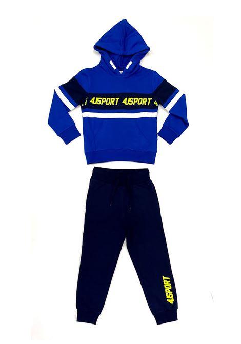 Tuta sportswears 4US - CESARE PACIOTTI | Tute sportswears | COMP2301JBLUETTE
