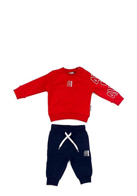 Tuta sportswears 4US - CESARE PACIOTTI | Tute sportswears | COMP2302BROSSO