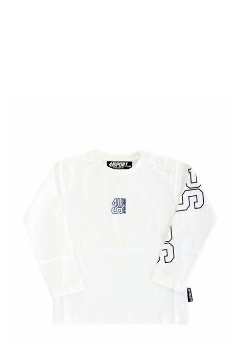 4US - CESARE PACIOTTI | T-shirt | TSP2304BBIANCO