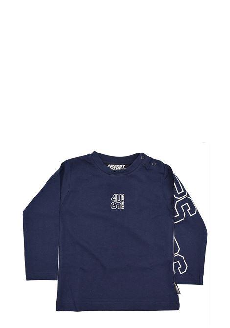 4US - CESARE PACIOTTI | T-shirt | TSP2304BBLU