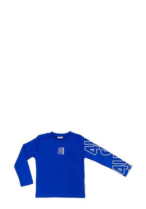 4US - CESARE PACIOTTI | T-shirt | TSP2304JBLUETTE