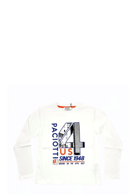 4US - CESARE PACIOTTI | T-shirt | TSP2320JBIANCO