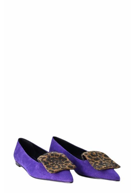 GIULIA NERI | Ballet shoes | 4501VIOLA/ANIMALIER