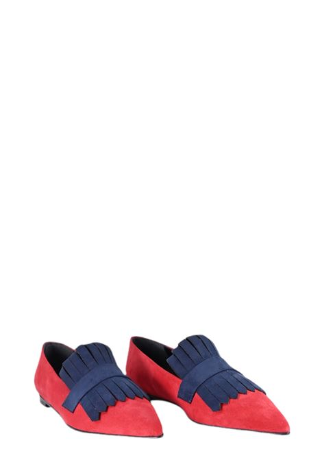 GIULIA NERI | Ballet shoes | 4503ROSSO/BLU