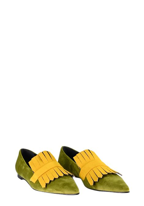 GIULIA NERI | Ballet shoes | 4503VERDONE/GOLD