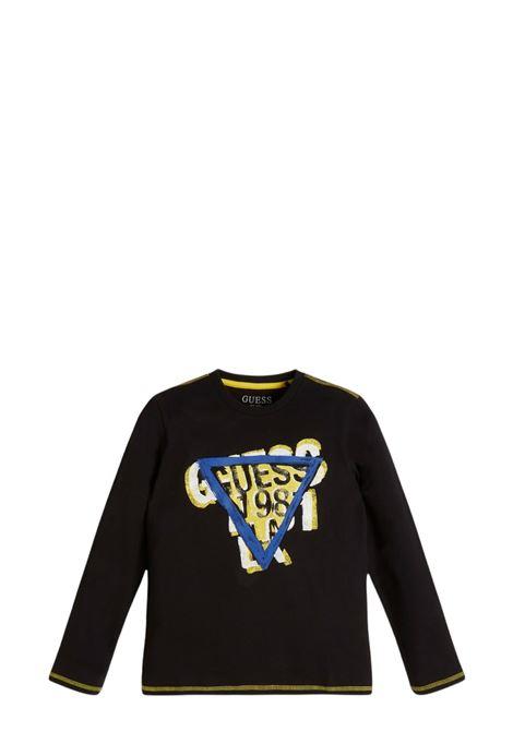 GUESS   T-shirt   L1BI20 I3Z11JBLK