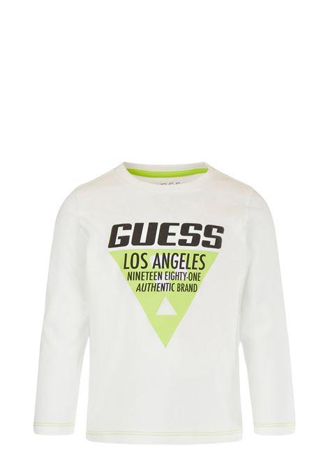 GUESS   T-shirt   N1YI10 K8HM0TWHT