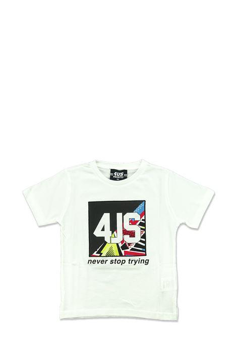 T-shirt 4US - CESARE PACIOTTI | T-shirts | TSP2107J100