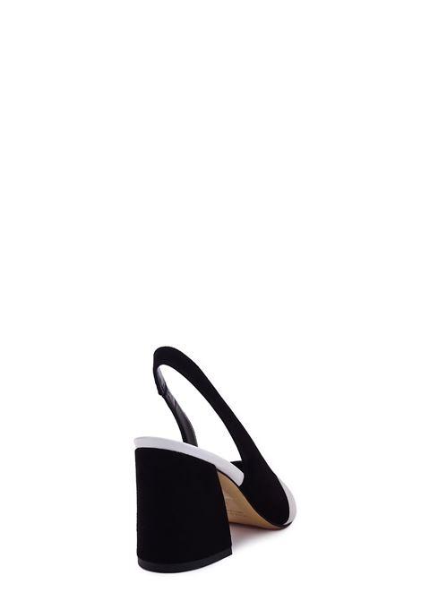 AURORA PARIS | High Heel Sandals | TED1010ANERO/OFFWHITE