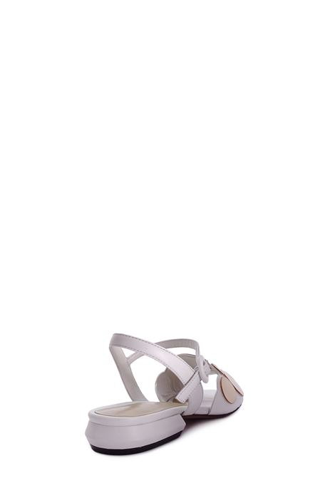BRUNO PREMI | Flat Sandals | BZ0106XGESSO/PLATINO