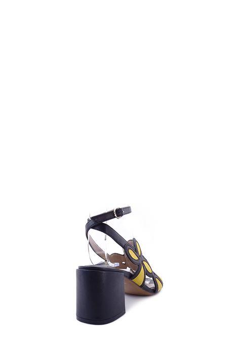 BRUNO PREMI   High Heel Sandals   BZ0505XNERO/GIRASOLE