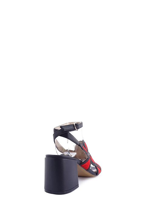 High Heel Sandals BRUNO PREMI | High Heel Sandals | BZ0505XNERO/ROSSO