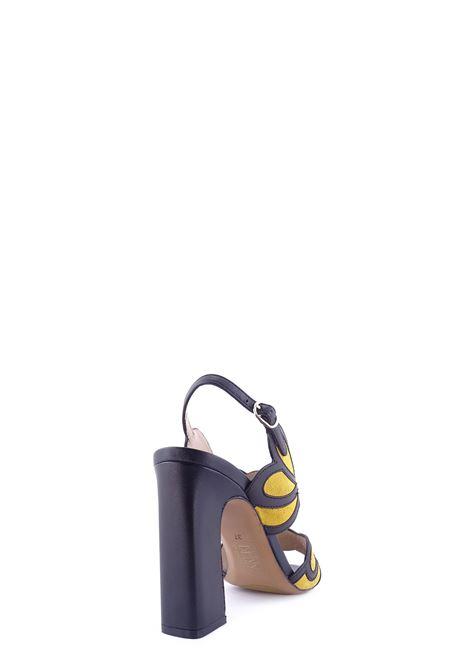 BRUNO PREMI   High Heel Sandals   BZ4105XNERO/GIRASOLE