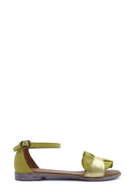 BUENO | Flat Sandals | 20WN5021SENAPE