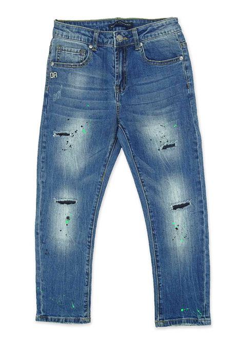 Jeans DANIELE ALESSANDRINI | Jeans | 1235D0688BLUE DENIM
