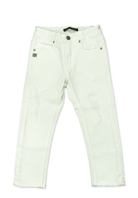 Pantalone DANIELE ALESSANDRINI | Pantaloni | 1235P0623BIANCO