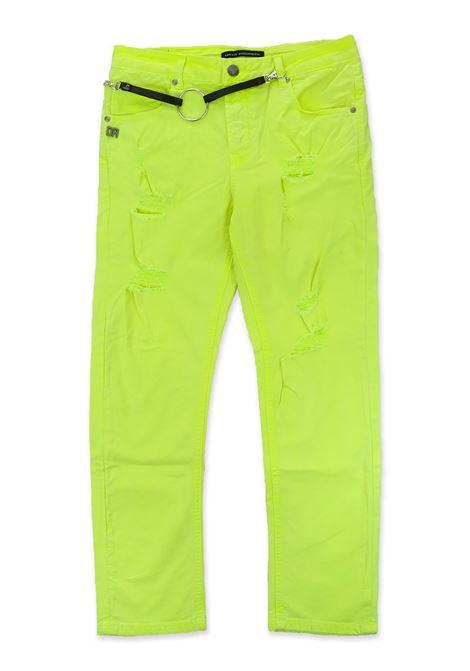 Pantalone DANIELE ALESSANDRINI | Pantaloni | 1235P0685GIALLO FLUO