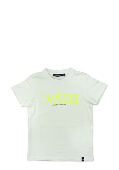 T-shirt DANIELE ALESSANDRINI | T-shirts | 1236M0616BIANCO