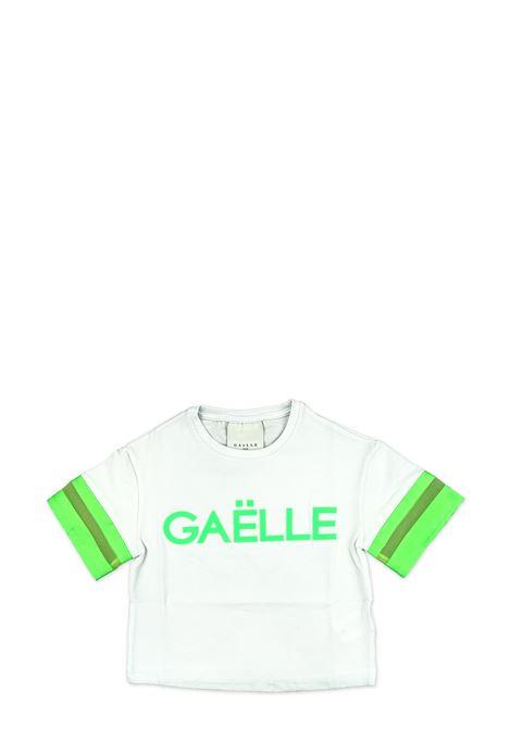 GAëLLE | T-shirt | 2746M0112BIANCO/VERDE