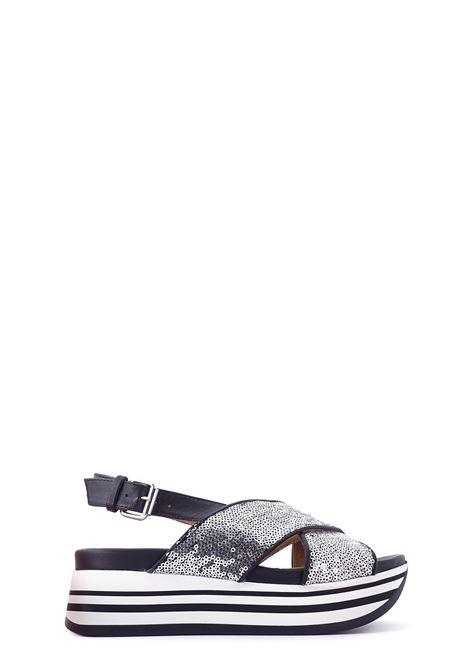 Wedges JANET SPORT | Wedges | 45805ARGENTO/NERO
