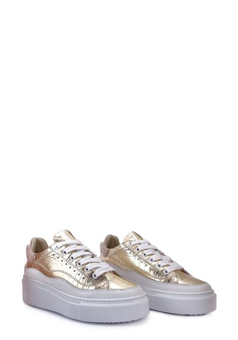 JANET SPORT | Sneakers | 45825PLATINO/BIANCO/CIPRIA