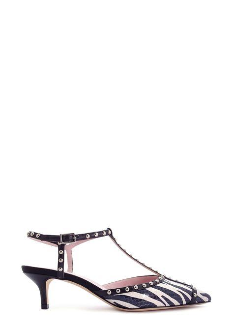 LELLA BALDI | Flat Shoes | 021ZEBRA NERO