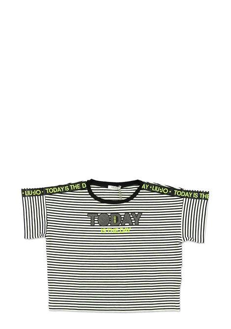 LIU-JO JUNIOR   T-shirt   GA0072J592100128