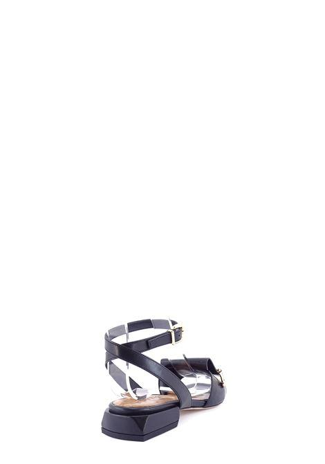 LORENZO MARI | Flat Sandals | LOR 1560NERO