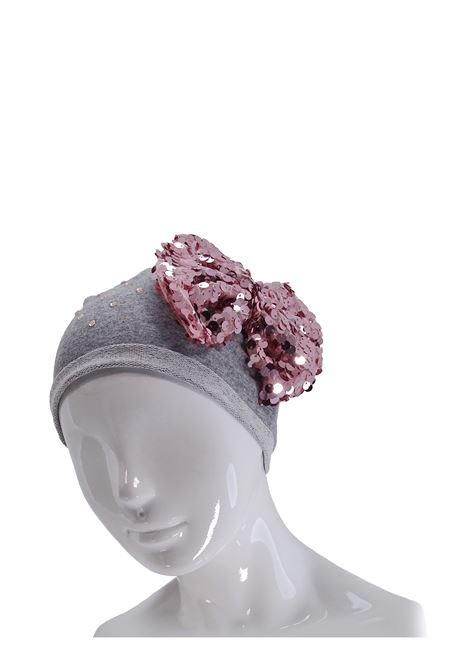 Cappello LU & LU | Cappelli | 104GRIGIO/ROSA