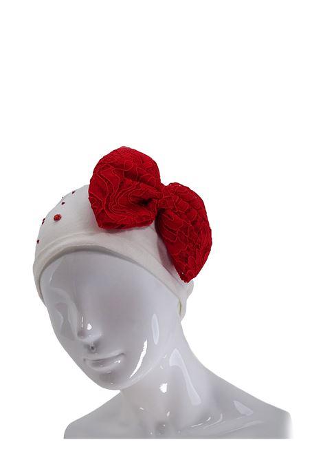 Cappello LU & LU | Cappelli | 111BIANCO/ROSSO