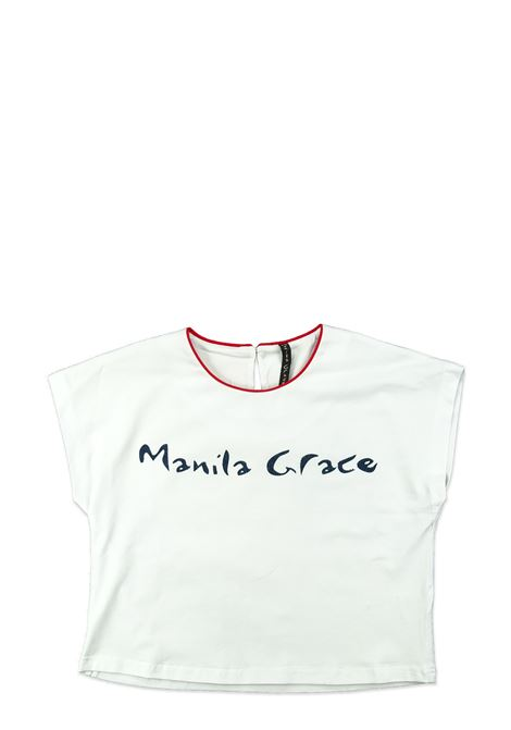 MANILA GRACE | T-shirt | MG18BIANCO