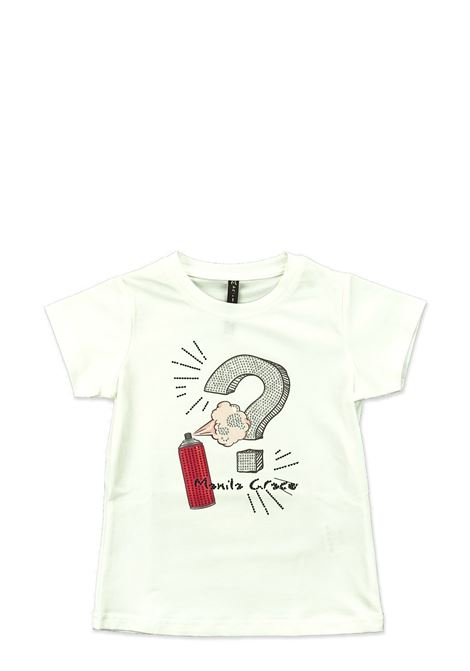 MANILA GRACE | T-shirt | MGB184LATTE