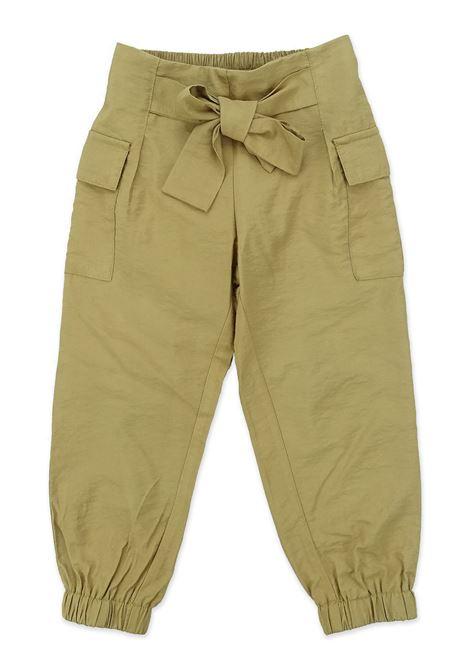 Pantalone MANILA GRACE | Pantaloni | MGB297TABACCO